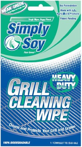 Nutek Green BET-0036 Simply Soy Grill Cleaning Wipes