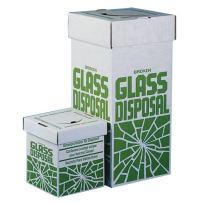 Bel-Art Cardboard Disposal Cartons for Glass; 12 x 12 x 27 in, Floor Model (Pack of 6) (F24653-0001)