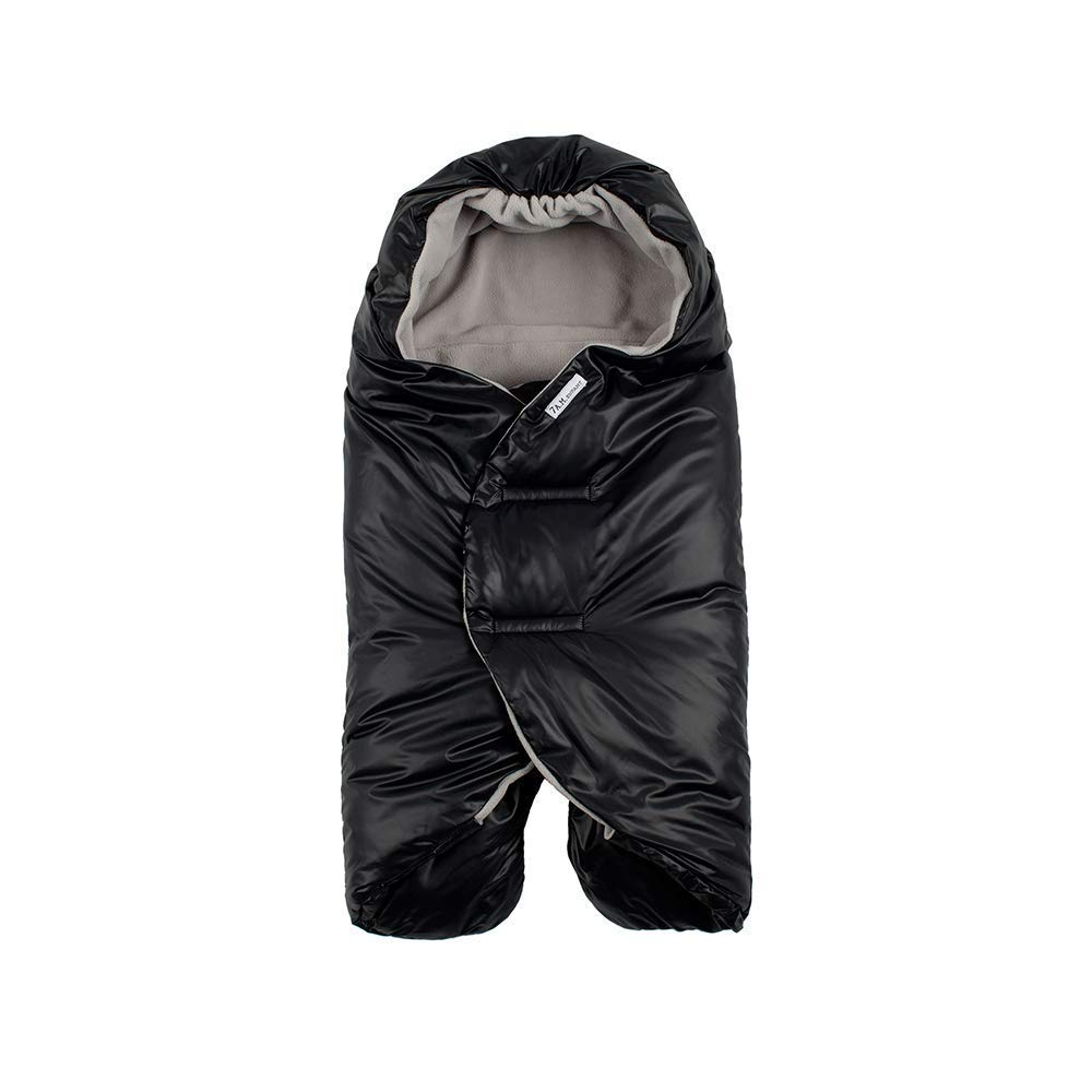 7 A.M. Enfant Nido Quilted (Black, Small)