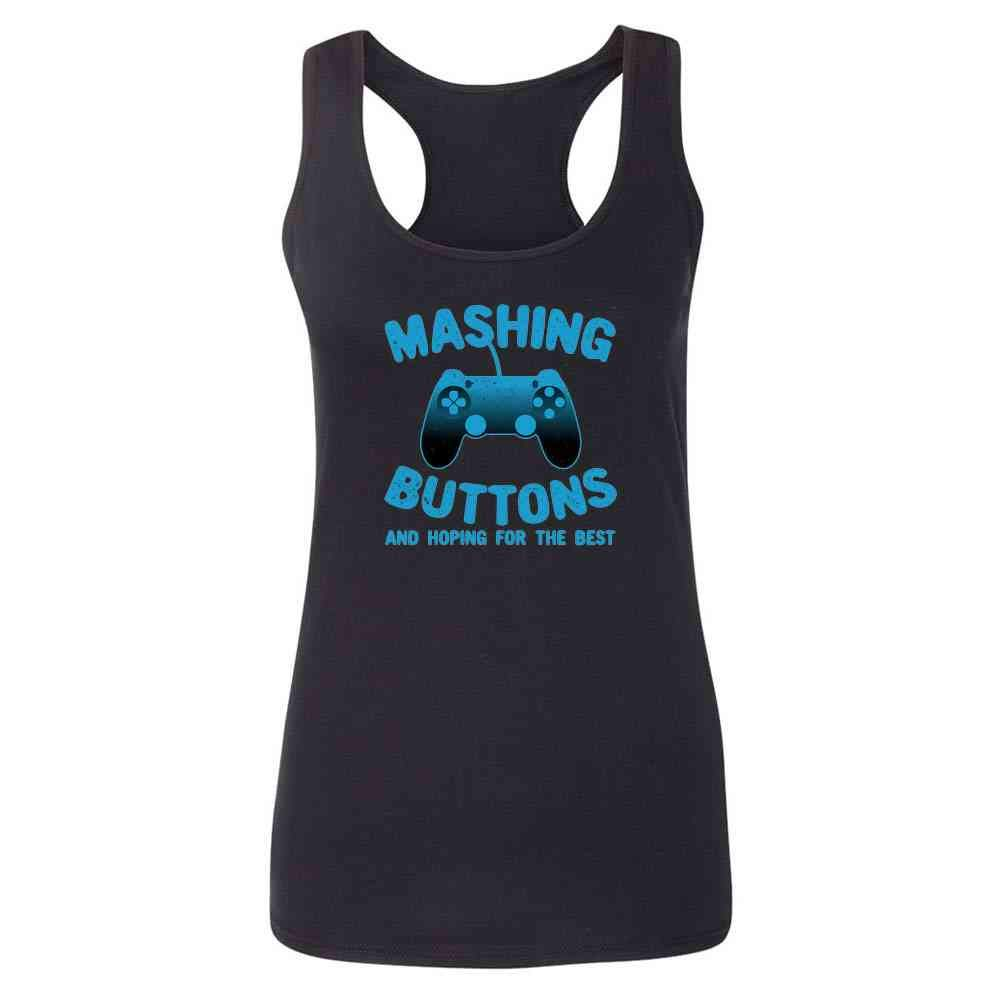 Gamer Gifts Video Game Merchandise Gaming Funny Fashion Tank Top Tee for Women
