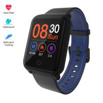 Fitpolo H706 Color Screen Fitness Watch, IP67 Waterproof Smart Activity Tracker with Heart Rate Monitor,Pedometer,Calorie Counter,Sleep Monitor, SMS/SNS Alert