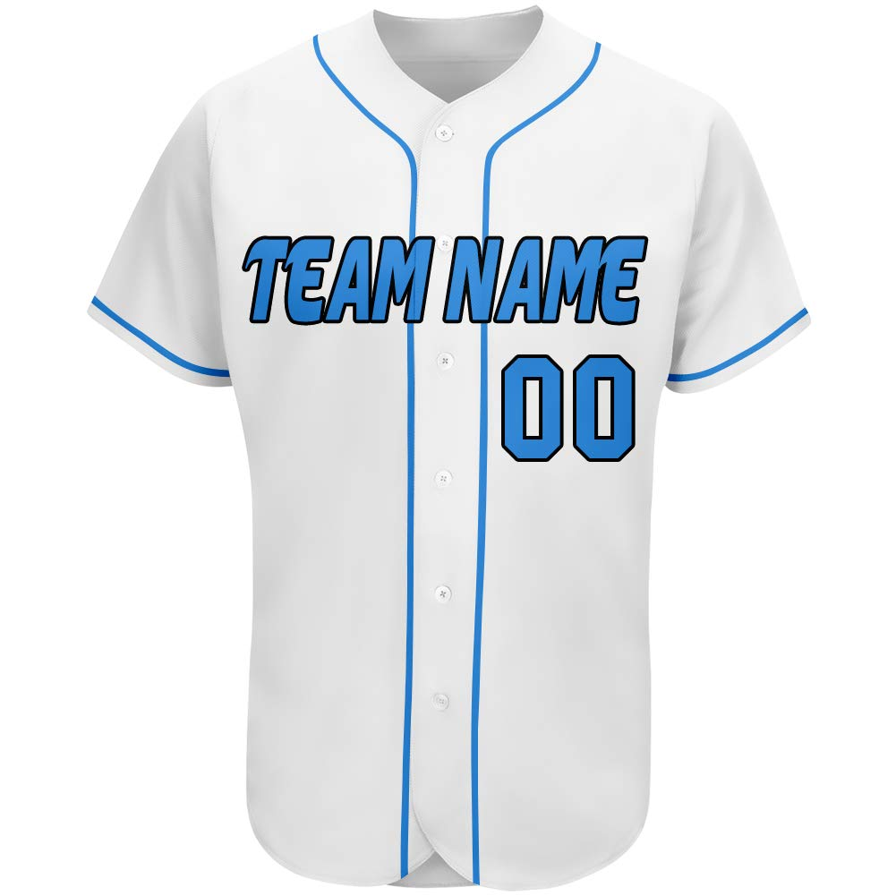 Custom Baseball Teams Jerseys Button Down Design Your Own Name and Number