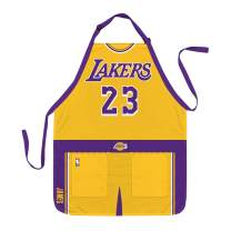 Party Animal NBA Los Angeles Lakers Lebron James Jersey Apron