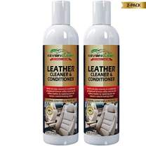 KevianClean Leather Cleaner and Conditioner 16 oz. (2-Pack) - 1 Product Cleans, Conditions, Moisturizes, Protects, Revives, Rejuvenates & Restores All Types of Finished Leather Items New or Old