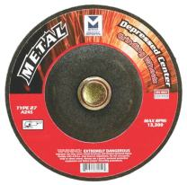 Mercer Abrasives 620060-25 Type 27 Depressed Center Grinding Wheels 4-1/2-Inch by 1/4-Inch by 7/8-Inch, 25-Pack