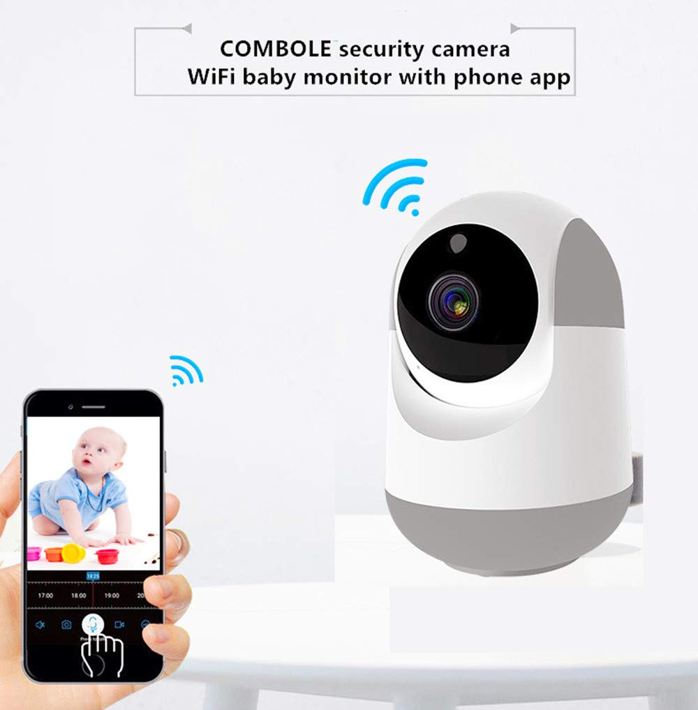 Long Range WiFi Baby Monitor,Baby Monitor with Camera and Audio,1080P Wireless Security Camera with Night Vision, Motion Detection,Two Way Audio and Cloud Storage for Baby/Pet/Elder