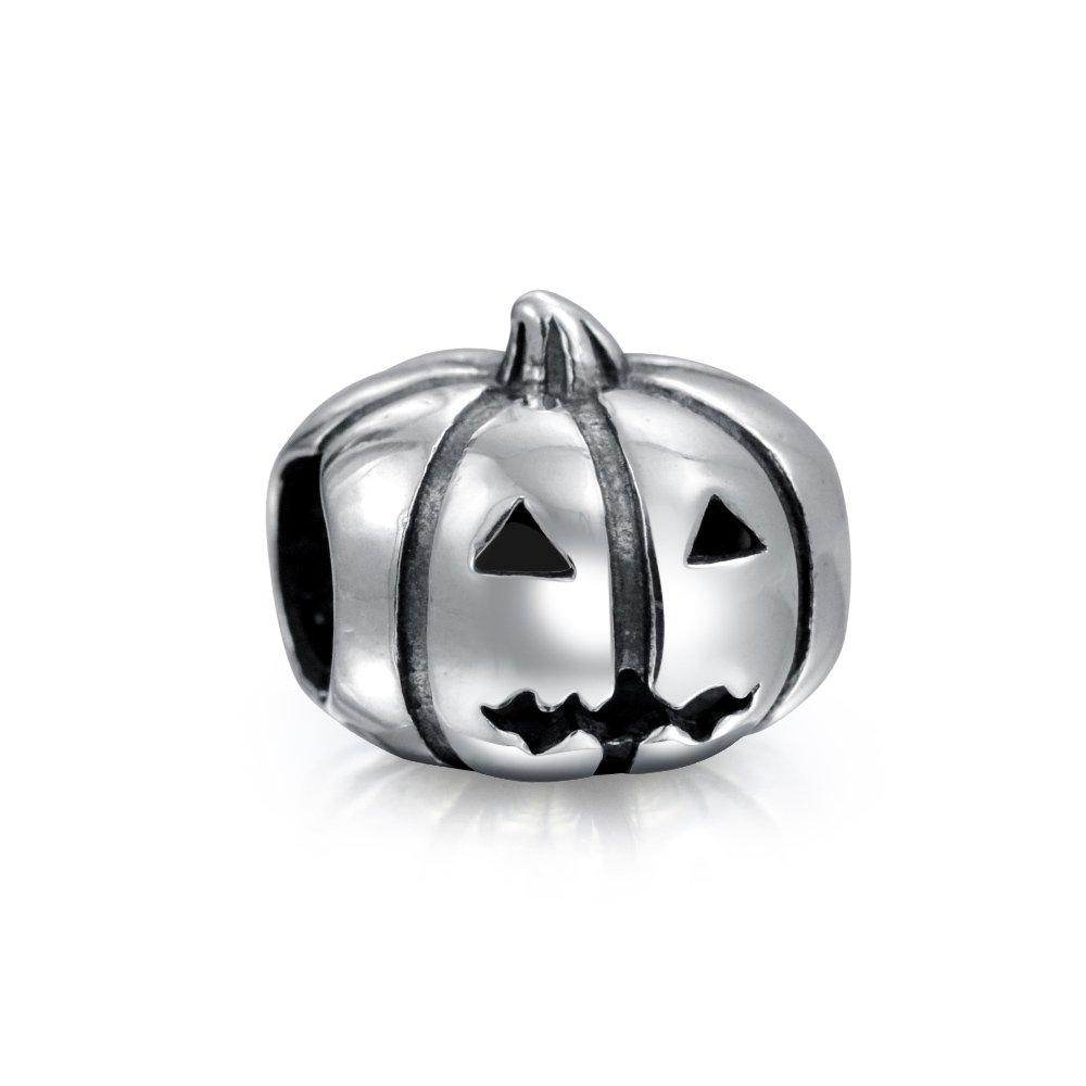 Handmade Halloween Jewelry Halloween Bracelet Jack O/' Lantern Bangle Pumpkin Bracelet Adjustable Bangle Jack O/' Lantern Bracelet