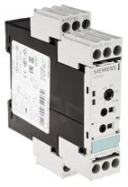 Siemens 3RP1505-1AP30 Solid State Time Relay, Industrial Housing, 22.5mm, Screw Terminal, 8 Function, 1 CO Contact Elements, 0.05s-100h Time Range, AC/DC 24 200-240VAC Control Supply Voltage