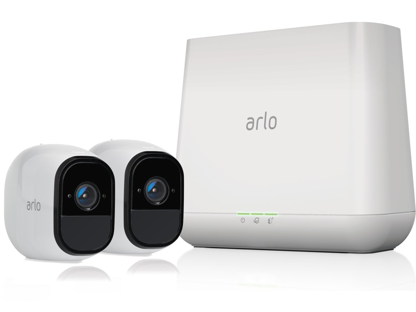 (Renewed) Arlo Pro Wireless Home Security Camera System | Rechargeable, Night vision, Indoor/Outdoor | 2 camera kit (VMS4230-100NAR)