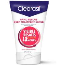 Clearasil Rapid Rescue Deep Treatment Face Scrub, 5 fl. Oz. (Pack of 2)