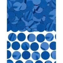 Amscan 360220.01 Dinner Napkins, 2.25 oz, Blue