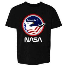 Pop Threads NASA Approved Space Program Logo Retro Graphic Toddler Kids Girl Boy T-Shirt
