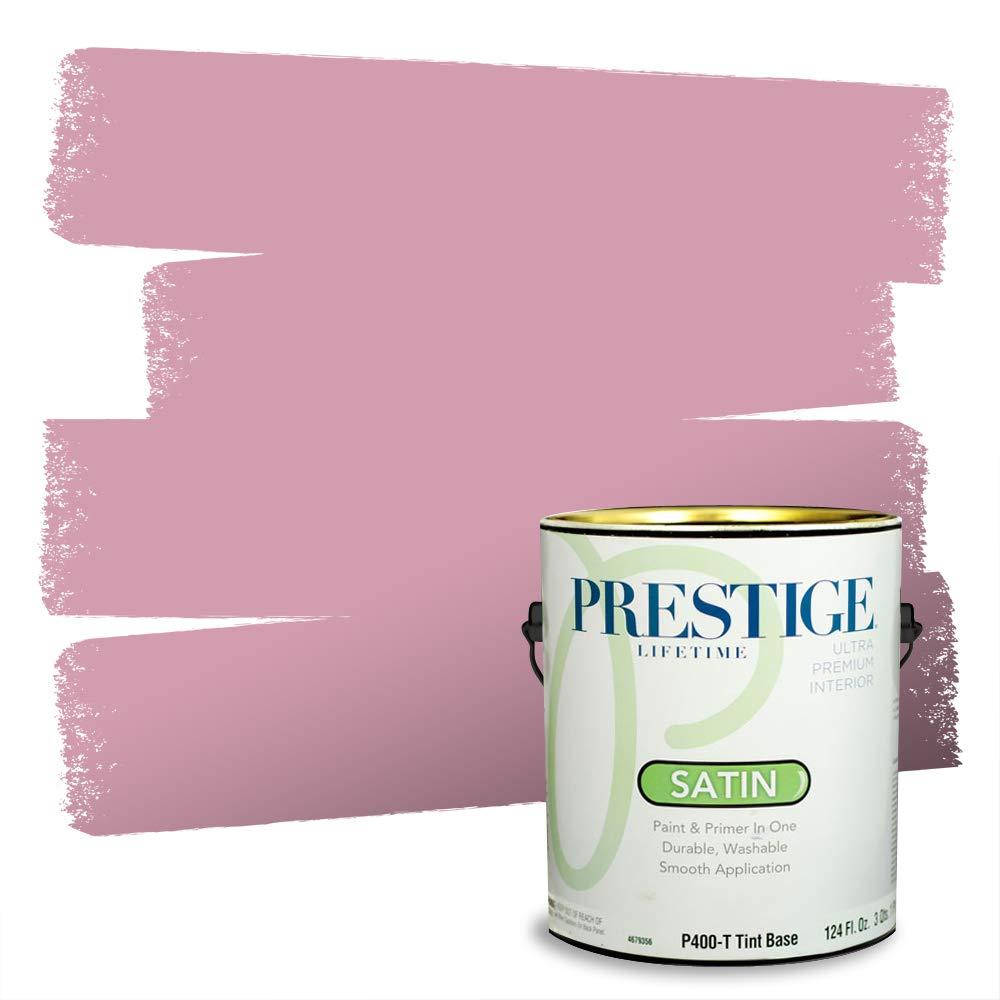 Prestige Interior Paint and Primer in One, 1-Gallon, Satin, Rose Ash