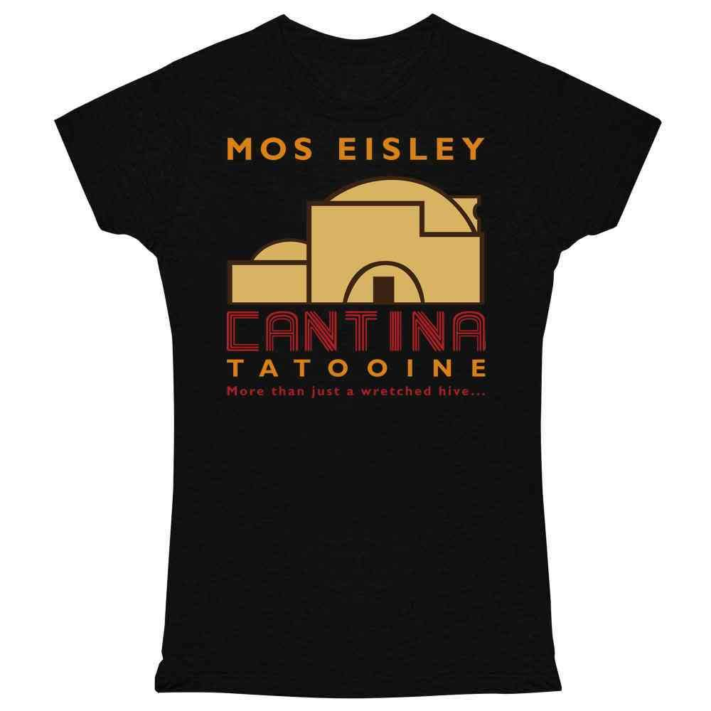 Mos Eisley Cantina Tatooine Graphic Tee T Shirt for Women