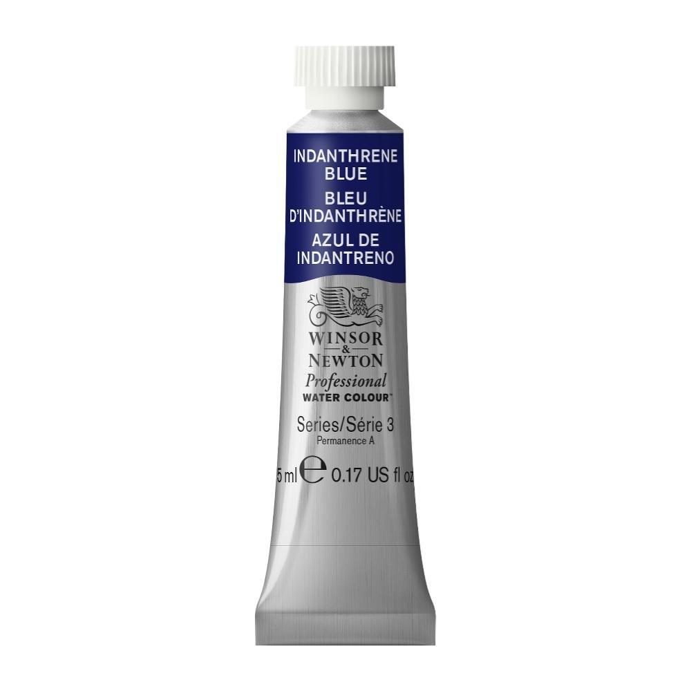 Winsor & Newton Professional Water Colour Paint, 5ml tube, Indanthrene Blue