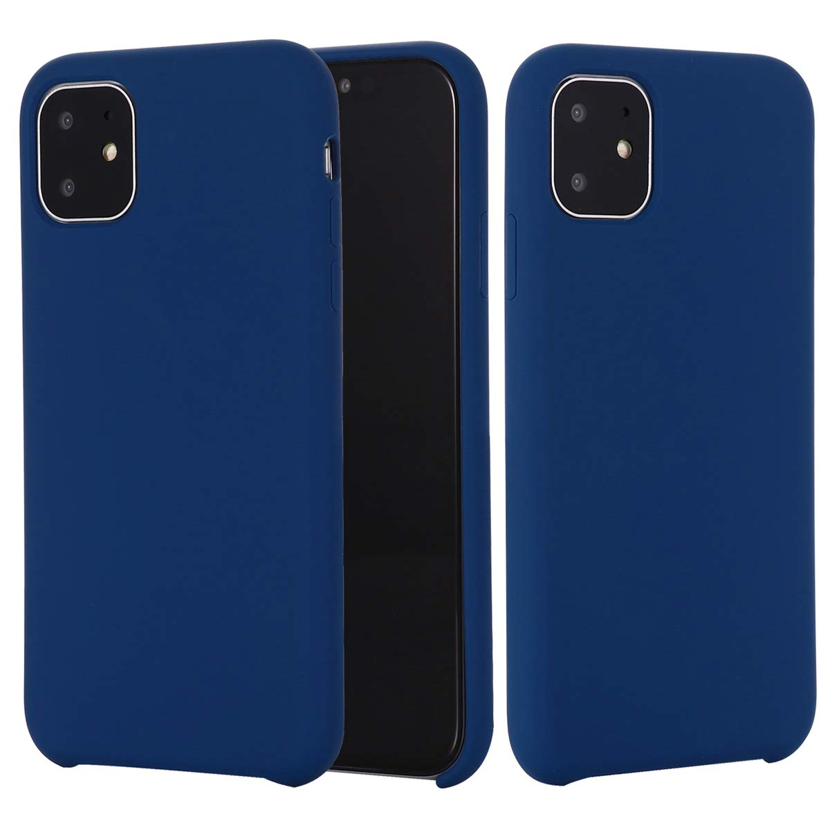 BeautyWill Cases for iPhone 11 Pro Max Case Liquid Silicone Smooth Gel Rubber Cover Ultra Slim Fit for iPhone 11 Pro Max 6.5 inch Royal-Blue