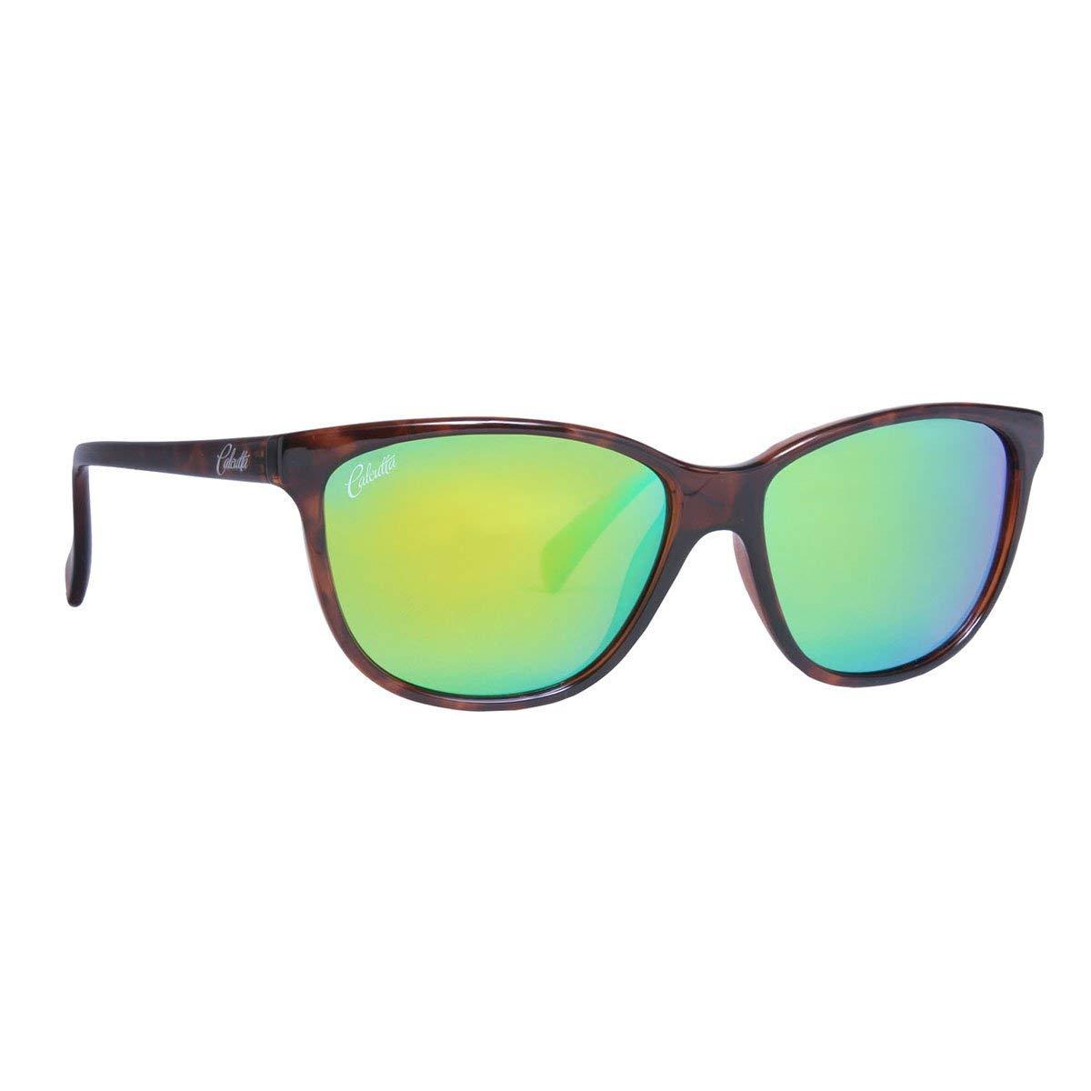 Calcutta Tortola Original Series Fishing Sunglasses – Ladies Polarized Lenses for Outdoor Sun Protection