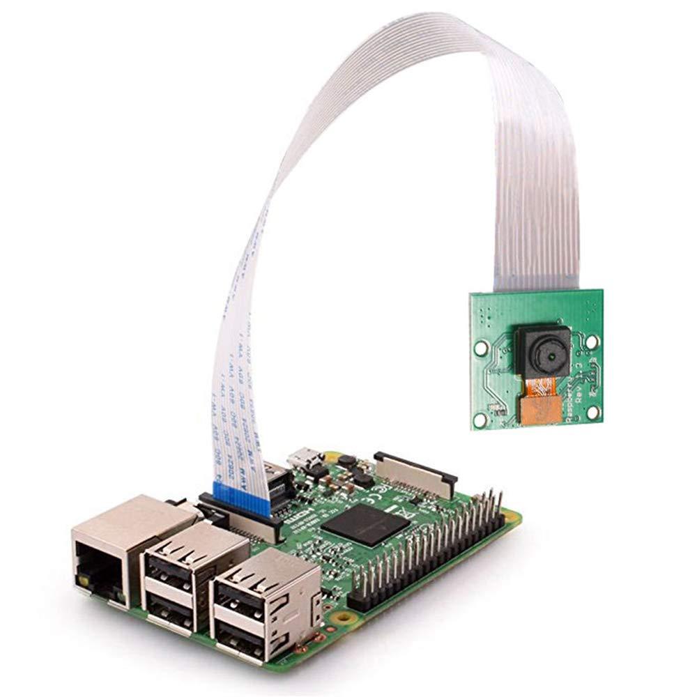 Raspberry Pi Mini Camera Video Module 5 Megapixels 1080p Sensor OV5647 Webcam for Raspberry Pi Model A/B/A+/B+, Pi 2B and Raspberry Pi 3B, Pi 3 B+, Raspberry Pi 4 B