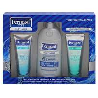 Dermasil Dry Skin Gift Set | Dry Skin Moisturizing GIFT BOXED SET Body Lotion & Face Protection for Soothing & Softens | Dermatologists Recommended Treatment Pump Cap Bottle (Dry Skin Set)