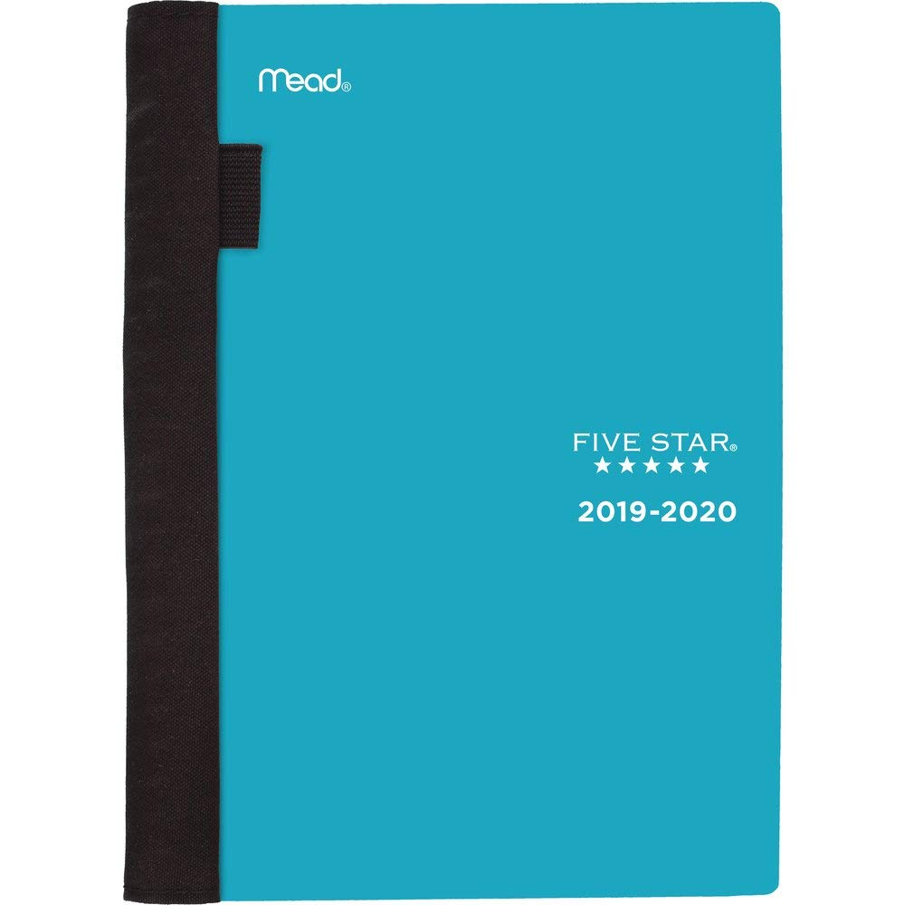 """Five Star Student 2019-2020 Academic Year Weekly & Monthly Planner, Small, 5-3/4"""" x 8-1/2"""", Advance, Teal (CAW45020)"""