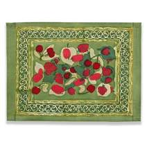 Couleur Nature Fruit Red/Green Mat 15-inches by 18-inches, Set of 6