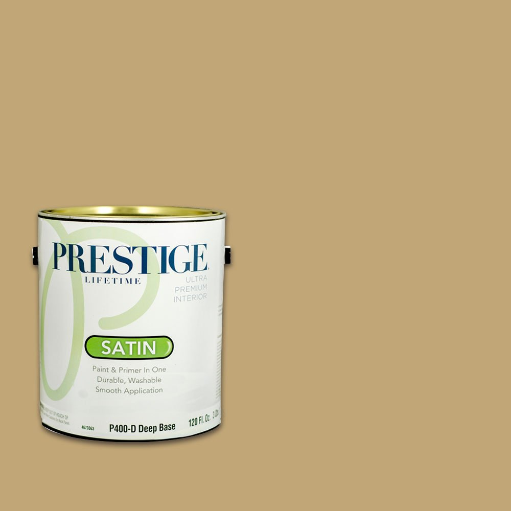 Prestige, Browns and Oranges 4 of 7, Interior Paint and Primer In One, 1-Gallon, Satin, Crossroads