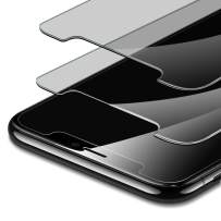 ESR [2-Pack] Tempered-Glass Privacy Compatible with iPhone 11 Pro Screen Protector/iPhone Xs Screen Protector, Easy Installation Frame, Anti-Spy, Case-Friendly, for iPhone 11 Pro/XS/X