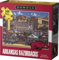 Dowdle Jigsaw Puzzle - Arkansas Razorbacks - 500 Piece