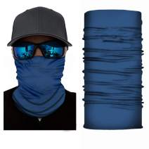 Youdiao Seamless Face Cover Mouth Mask Scarf Bandanas Neck Gaiter - Dust & UV Sun-Protection for Festivals and Outdoors