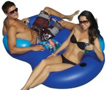 Solstice by Swimline Double Tube Cooler Float