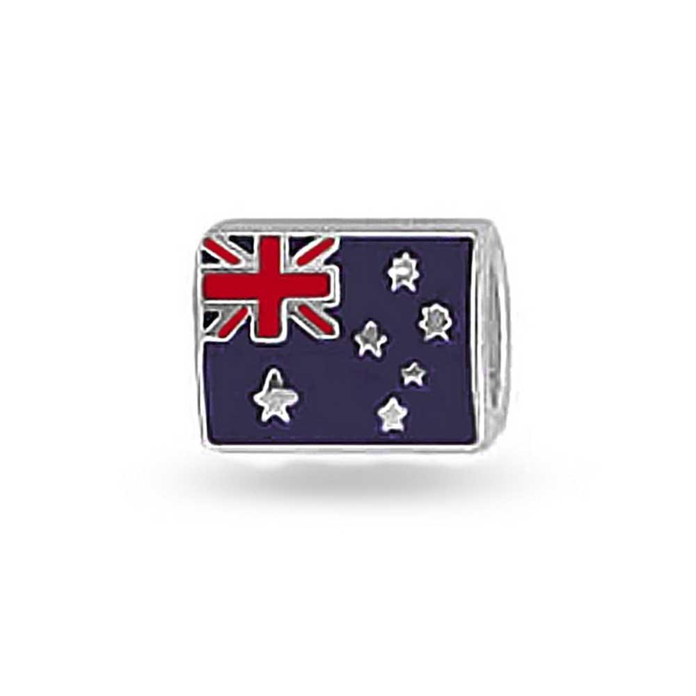 Australian Flag Pride International Charm Bead For Women For Teen 925 Sterling Silver Fits European Bracelet