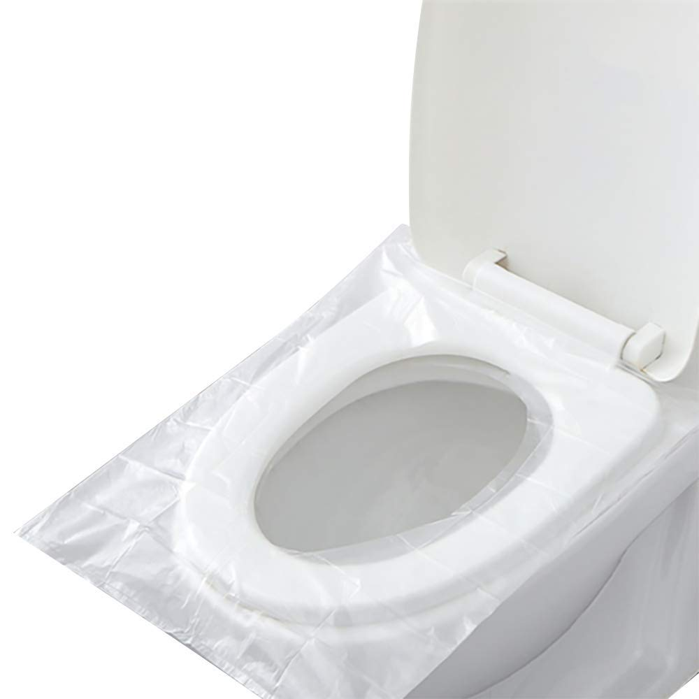 60 Pack Toilet seat Covers Disposable for Travel Friendly Packing for Kids Potty Training and Adult (60covers)