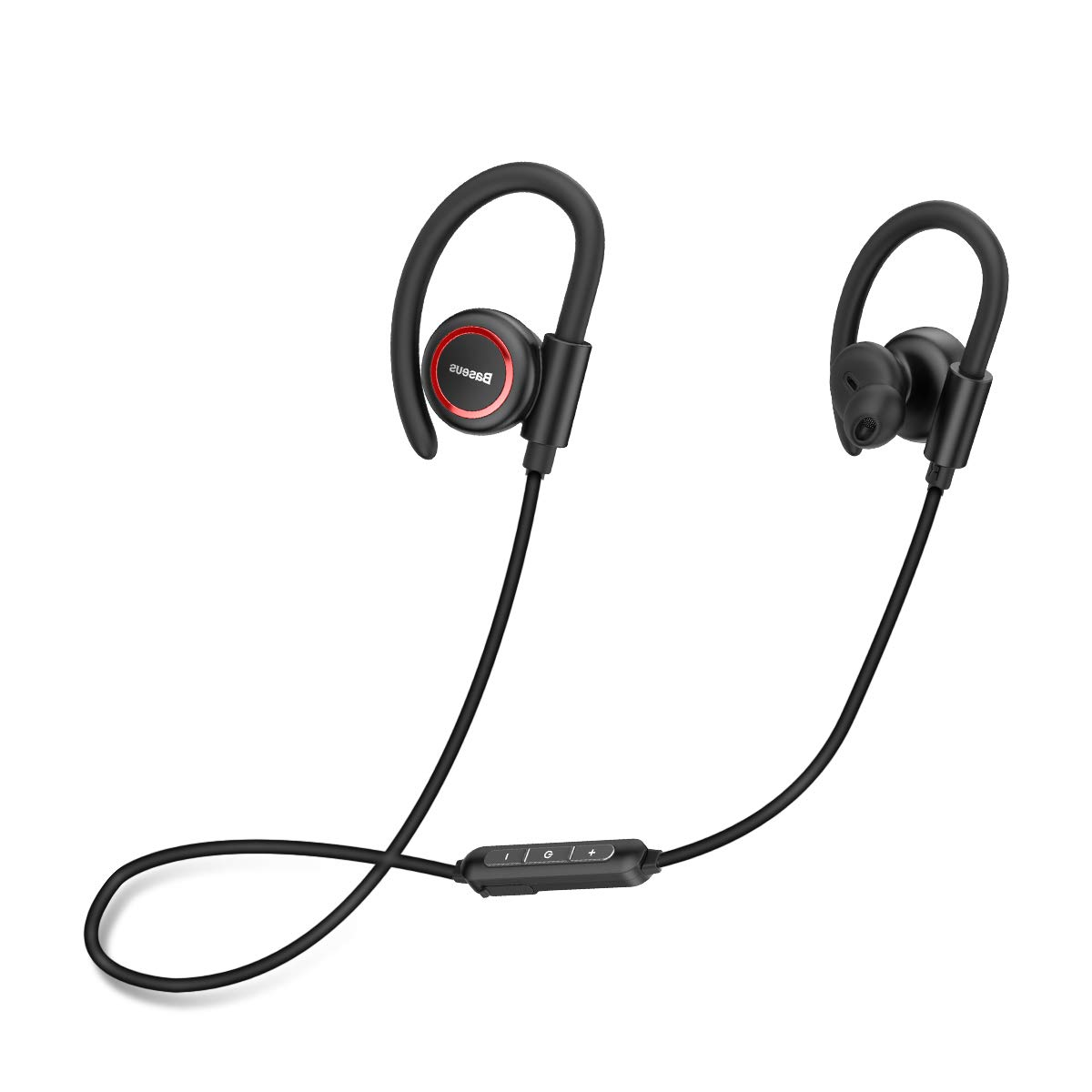 Bluetooth Headphones, Baseus Wireless Earbuds Bluetooth 5.0 HD Stereo Headset Waterproof Sweatproof 7-10 Hrs Playback Noise Cancelling Headsets in-Ear Earbuds Sports for Running, Cycling, Workout, Gym