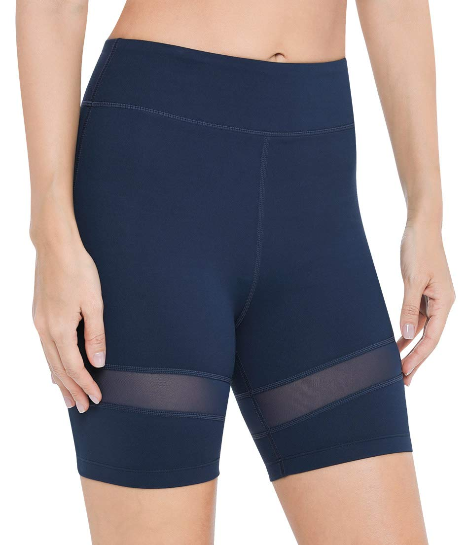 VUTRU Women's Workout Yoga Running Compression Exercise Shorts Non See-Through Tummy Control Athletic Shorts