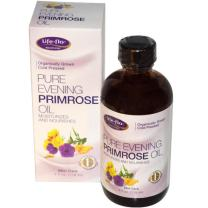 Life-flo Pure Evening Primrose Oil, Certified Organic | Soothes, Balances and Hydrates Dry, Problem Skin and Scalp, 4oz