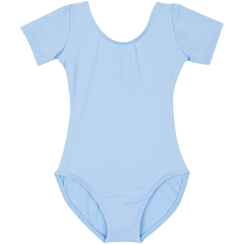 Leotard Boutique Classic Short Sleeve Leotard Toddlers & Girls