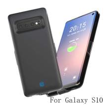 Idealforce Samsung Galaxy S10 Battery Charger Case,7000mAh External Power Bank Cover Portable Charger Protective Charging Case for Samsung Galaxy S10