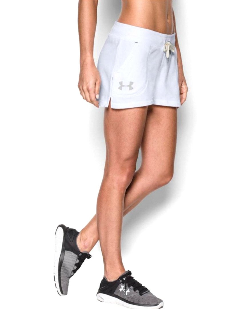 Under Armour Womens French Terry Shorty Short