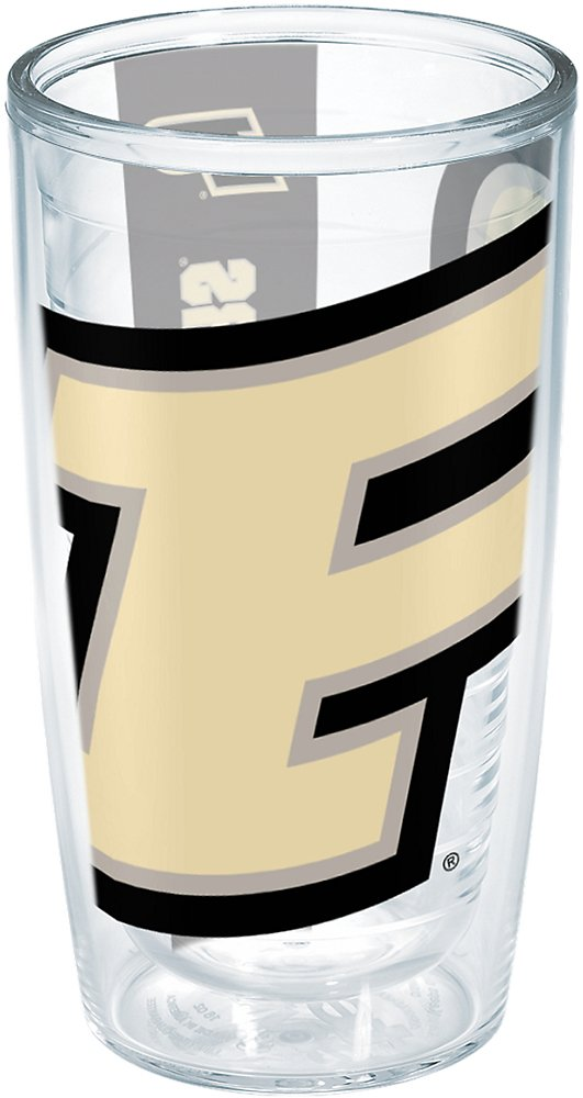 Tervis 1204616  Purdue University Colossal Wrap Individual Tumbler, 16 oz, Clear