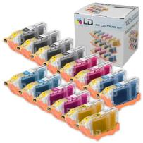 LD Compatible Ink Cartridge Replacement for Canon BCI6 (4 Black, 2 Cyan, 2 Magenta, 2 Yellow, 2 Photo Cyan, 2 Photo Magenta, 14-Pack)