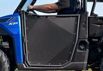 SuperATV Aluminum Half Doors for Polaris Ranger XP 900 (2013+) - Pair