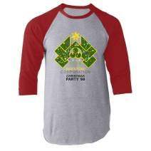 Yippee Ki Yay Now I Have a Machine Gun Nakatomi Raglan Baseball Tee Shirt