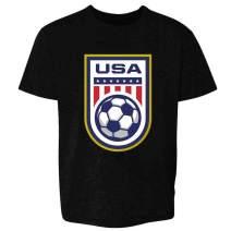 USA Soccer Team National Crest Girls or Boys Youth Kids Girl Boy T-Shirt