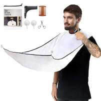 Beard Apron Cape, Beard Trimming Catcher for Shaving, Beard Trimming Apron for Men Hair