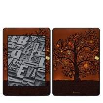 Tree of Books Amazon Kindle Paperwhite 2018 Full Vinyl Decal - No Goo Wrap, Easy to Apply Durable Pro