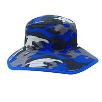 Keepersheep Kids Boys Sun Camo Bucket Hat Cap, Wide Large Brim Outdoor Hat Cap
