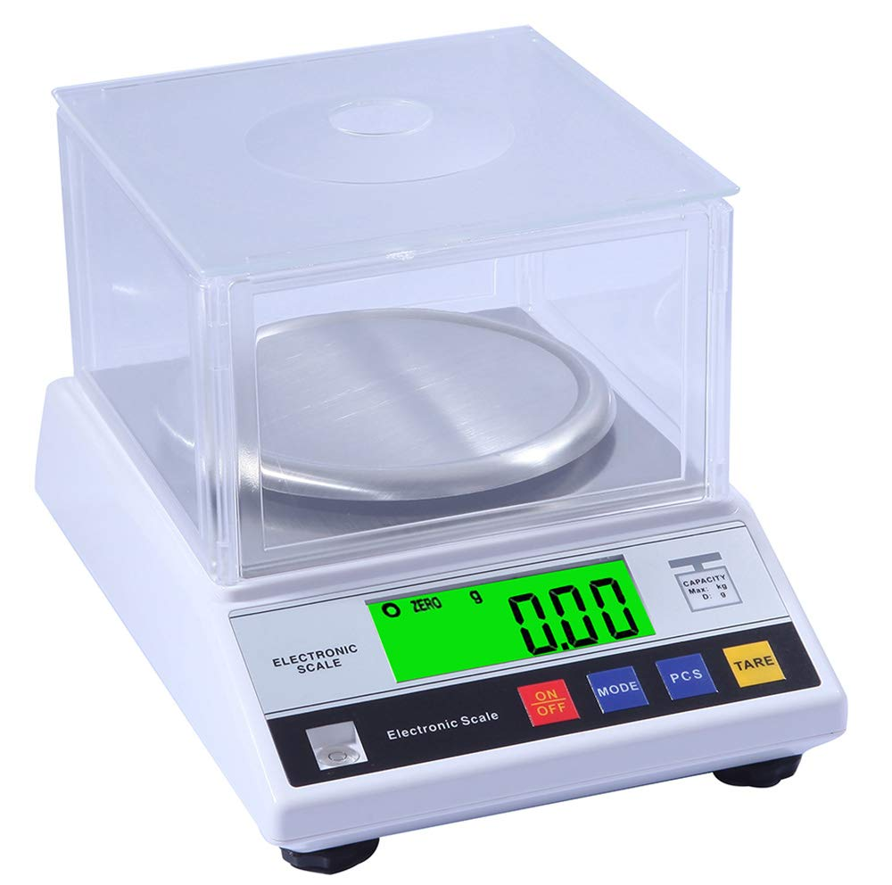 CGOLDENWALL High Precision Digital Accurate Analytical Electronic Balance Lab Scale Laboratory Weighing Balance Industrial Scale with Counting Function CE 14cm Large Weighing Pan 0.01g (300g, 0.01g)
