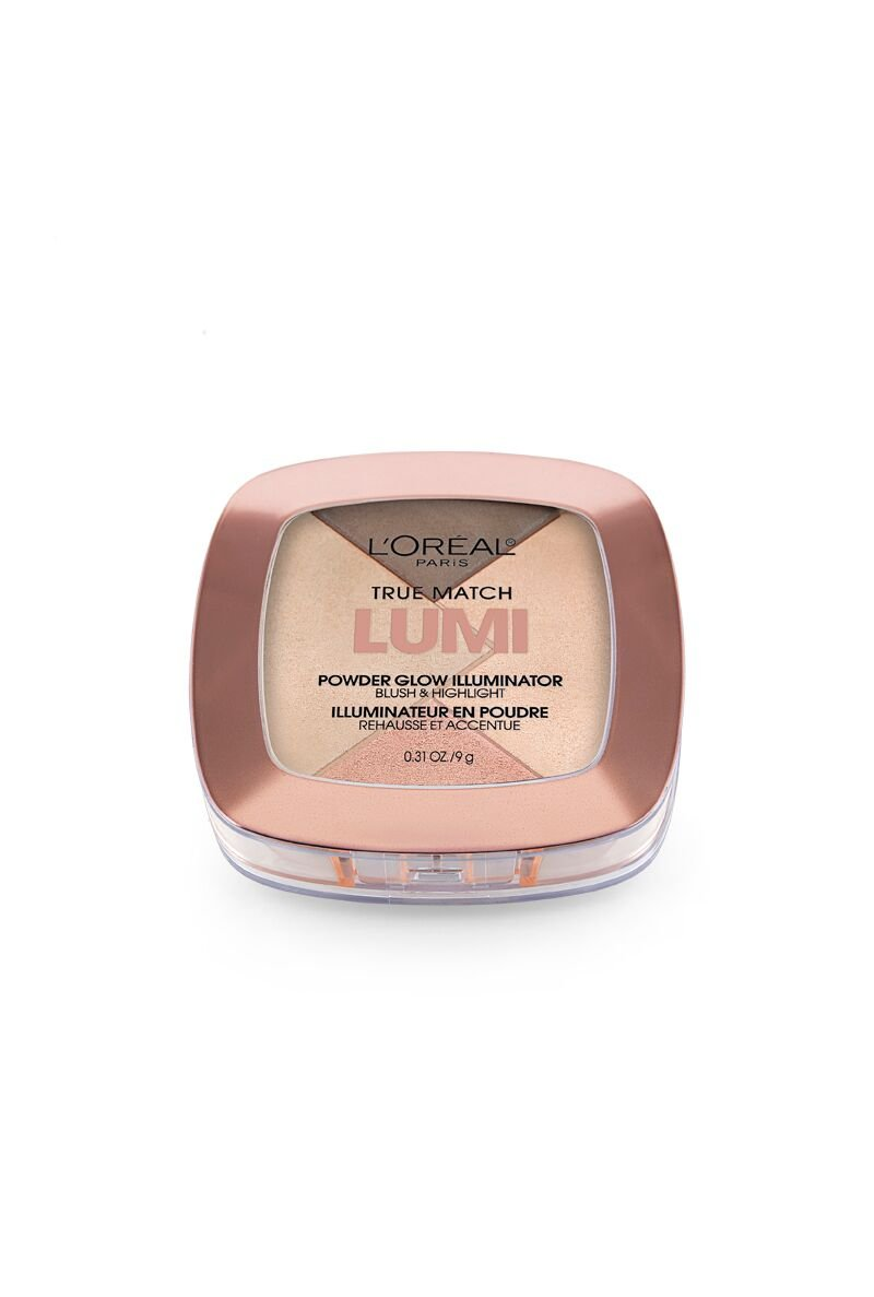 L'Oreal Paris True Match Lumi Powder Glow Illuminator, Golden, 0.31 oz.