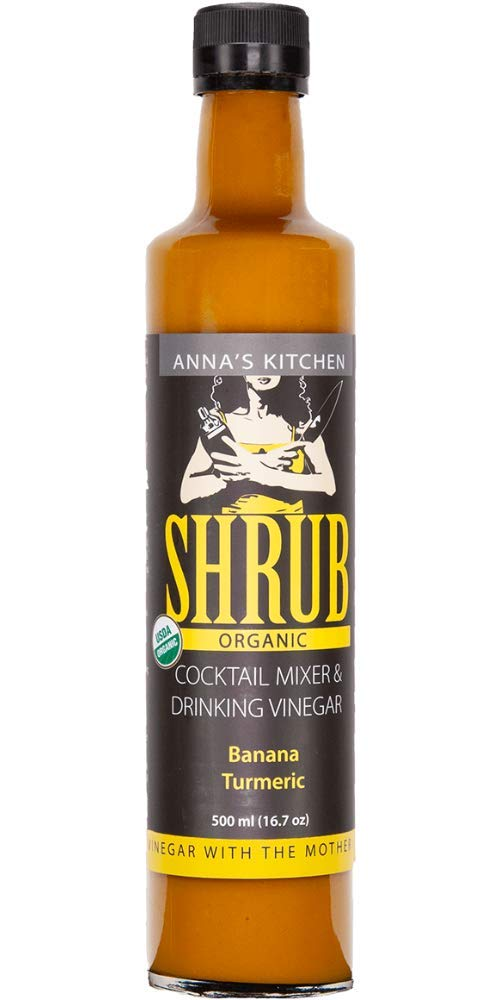 Organic Banana Turmeric Shrub - Drink & Cocktail Mix