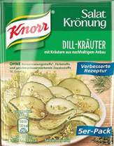 Knorr Salat Kronung Dill-Krauter (Salad Herbs and Dill), 5-Count Packets